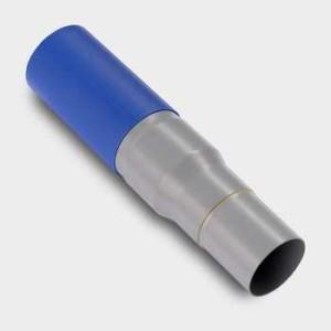 Übergangsstücke, zum Anbinden der Erdleitung mit PVC Fahrrohr
